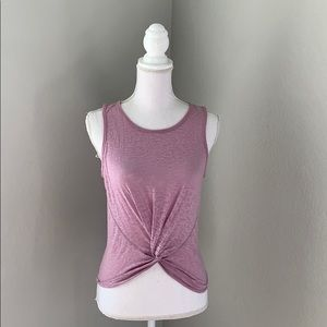Lululemon Crescent Knotted Tank Top